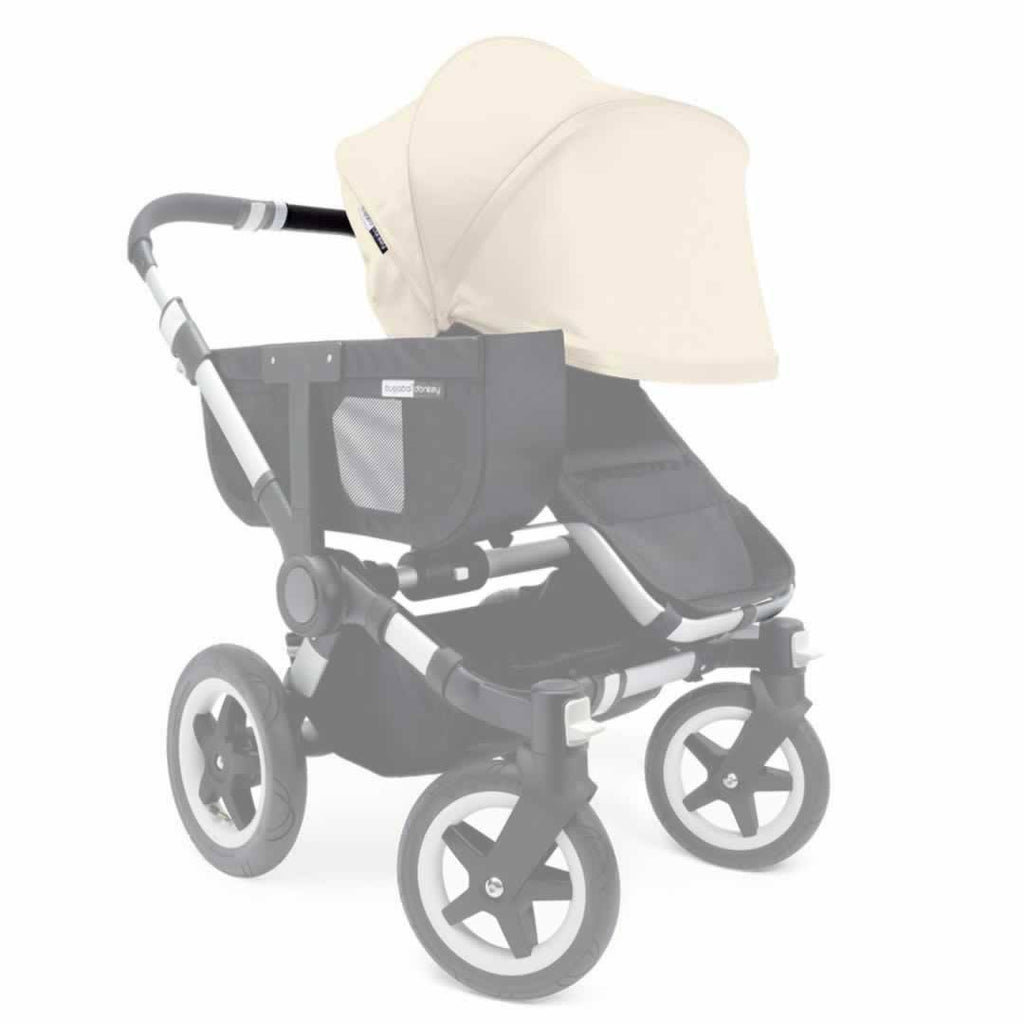 Bugaboo Donkey Sun Canopy - Off White - Sun Covers - Natural Baby Shower