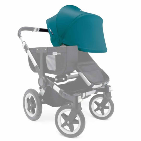 Bugaboo Donkey Sun Canopy - Petrol Blue - Sun Covers - Natural Baby Shower
