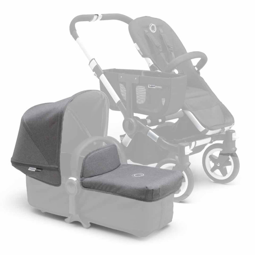Bugaboo Donkey Tailored Fabric Set Grey Melange