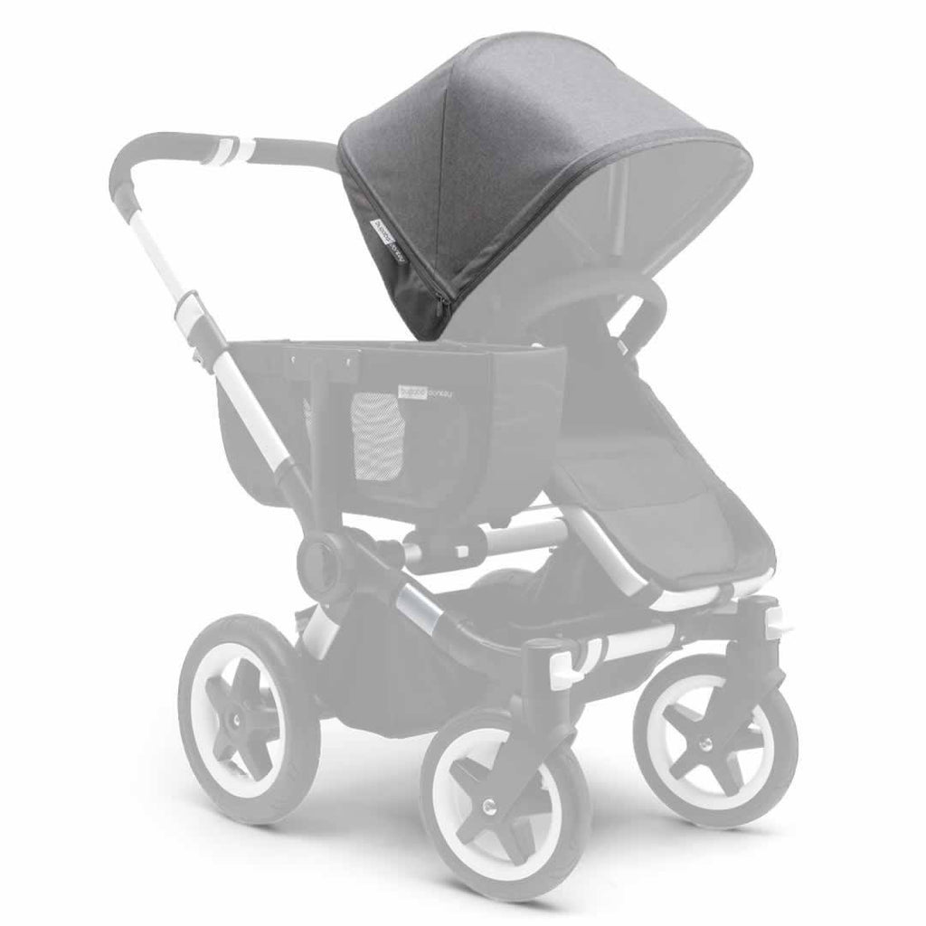 Bugaboo Donkey Tailored Fabric Set in Grey Melange