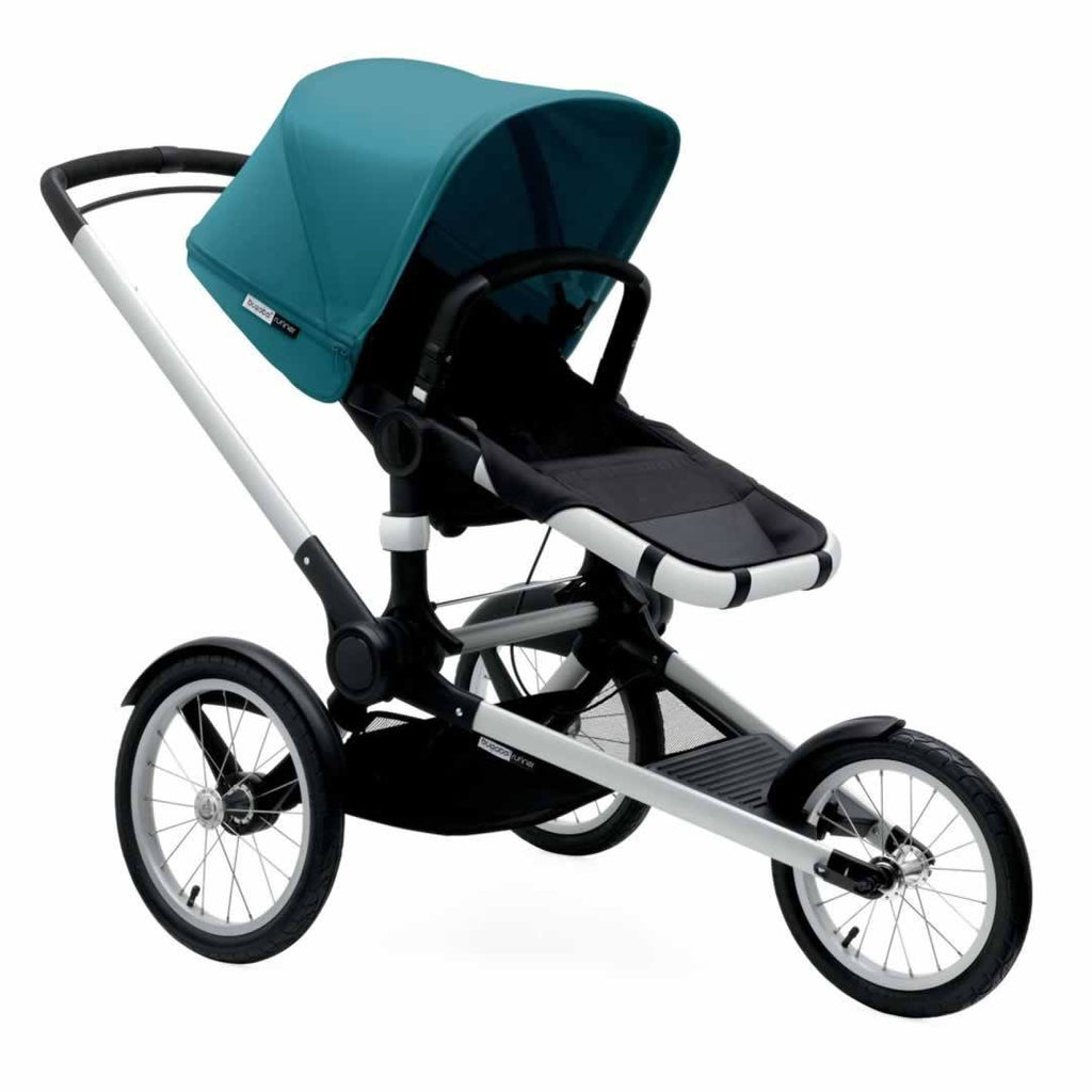 Bugaboo Runner Pushchair in Petrol Blue & Aluminium