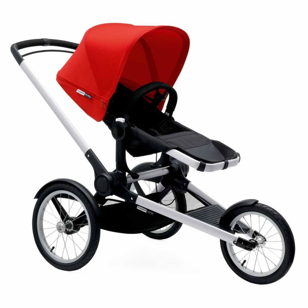 Bugaboo Runner Pushchair Red & Aluminium