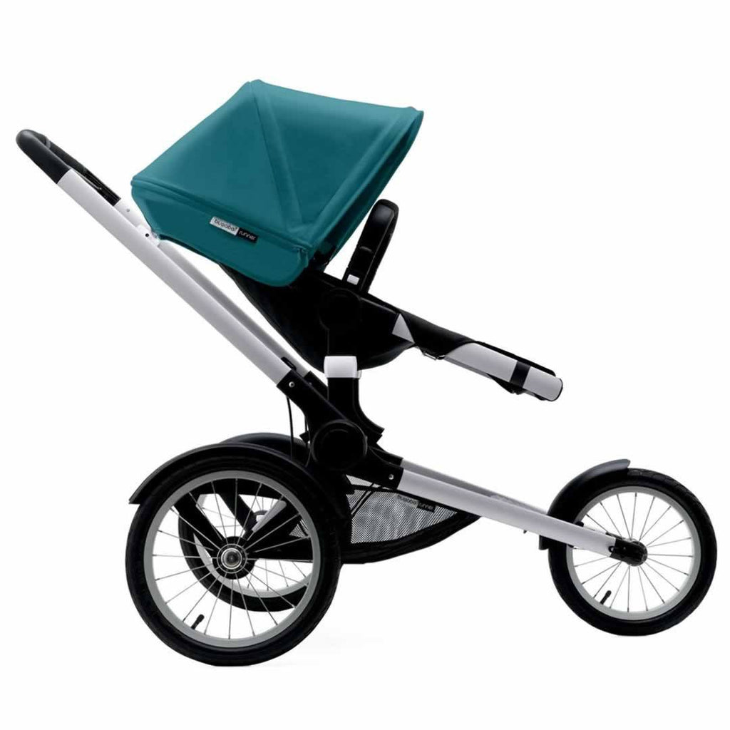 Bugaboo Runner Pushchair Petrol Blue & Aluminium