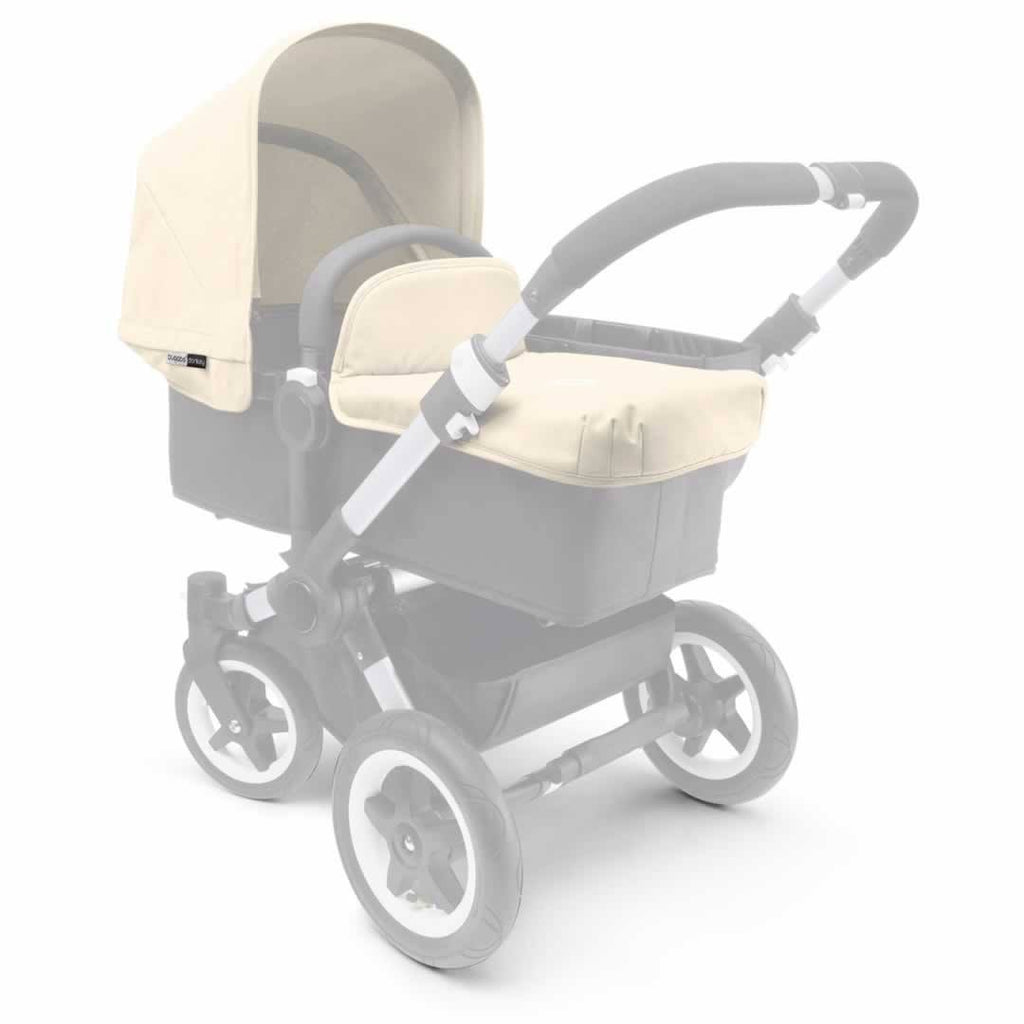 Bugaboo Donkey Tailored Fabric Set - Off White - Colour Packs - Natural Baby Shower
