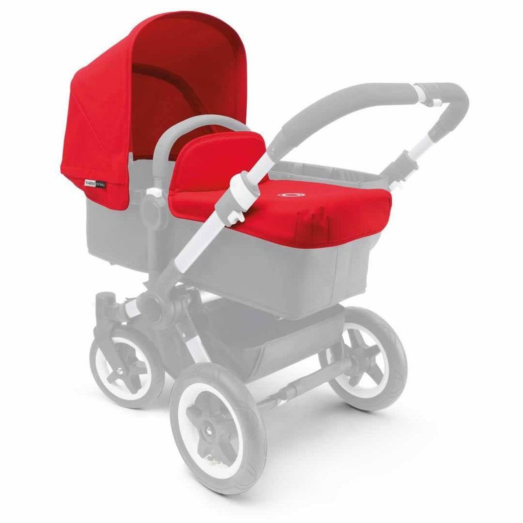 Bugaboo Donkey Tailored Fabric Set - Red - Colour Packs - Natural Baby Shower