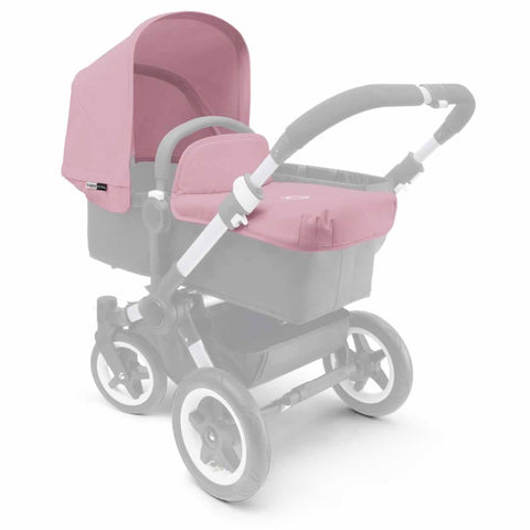 Bugaboo Donkey Tailored Fabric Set in Soft Pink