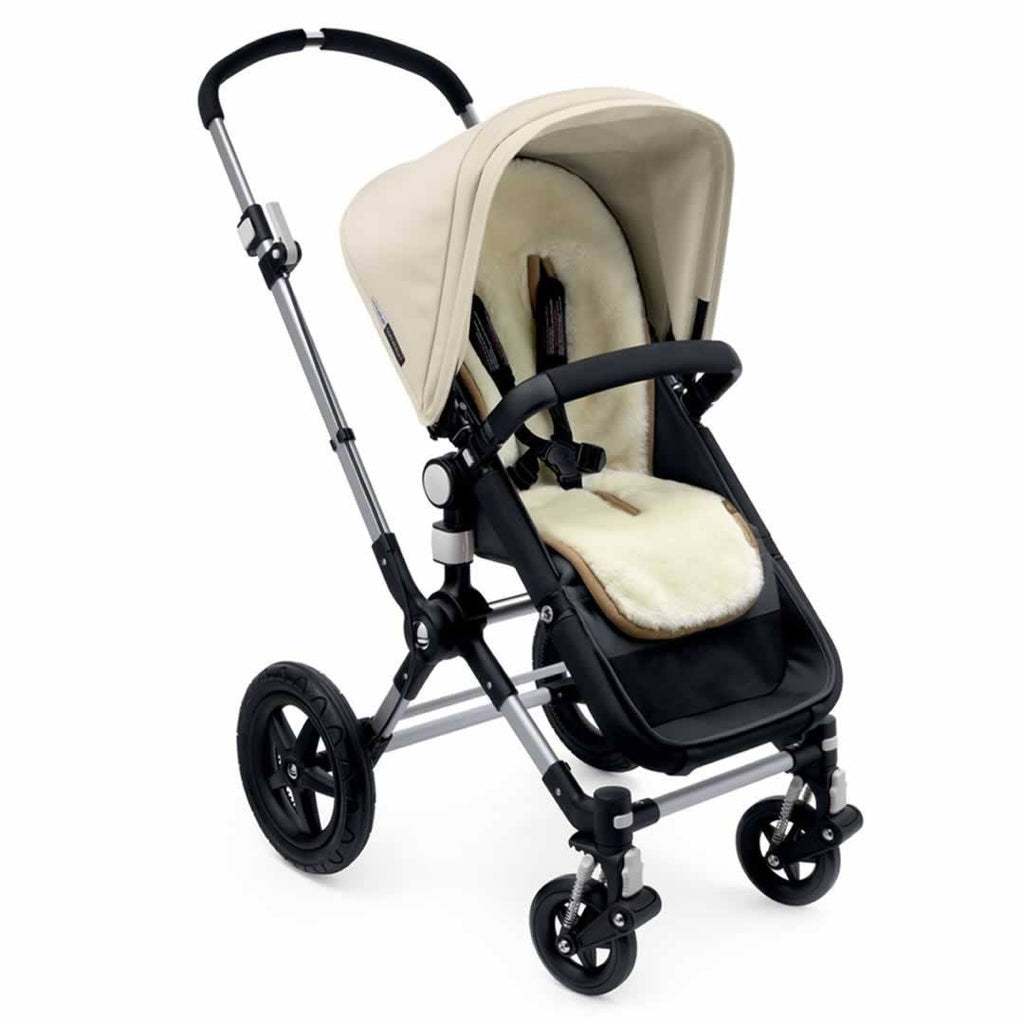 Bugaboo Wool Seat Liner Front Lifestyle