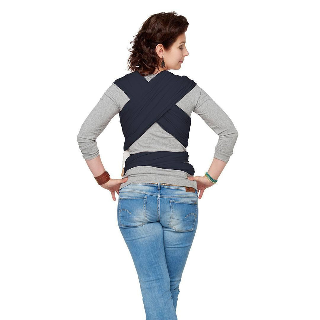 yKay Classic Stretchy Wrap - Jeans Blue Lifestyle Back