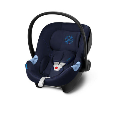 CYBEX Aton M Car Seat - Indigo Blue-Car Seats- Natural Baby Shower