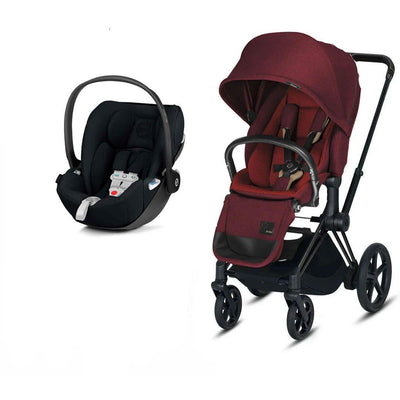 CYBEX Priam Travel System - Hot + Spicy-Travel Systems-No Base- Natural Baby Shower