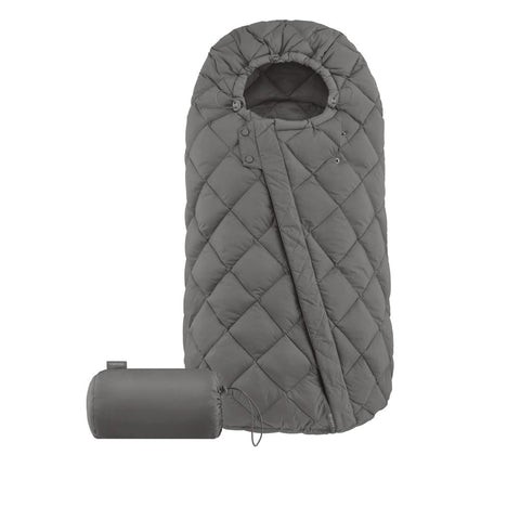 Cybex Snogga Footmuff - Soho Grey-Footmuffs- Natural Baby Shower