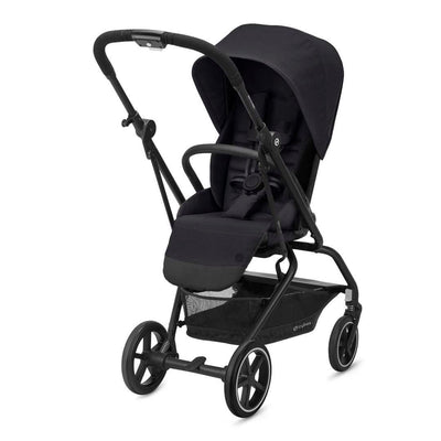 CYBEX Eezy S Twist+2 Pushchair - Deep Black-Strollers- Natural Baby Shower