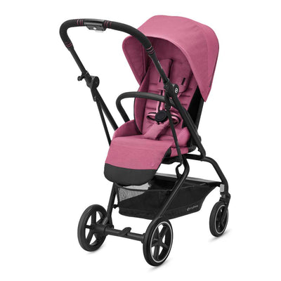 CYBEX Eezy S Twist+2 Pushchair - Magnolia Pink-Strollers- Natural Baby Shower