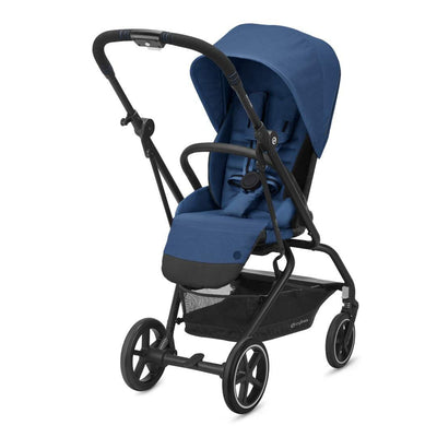 CYBEX Eezy S Twist+2 Pushchair - Navy Blue-Strollers- Natural Baby Shower
