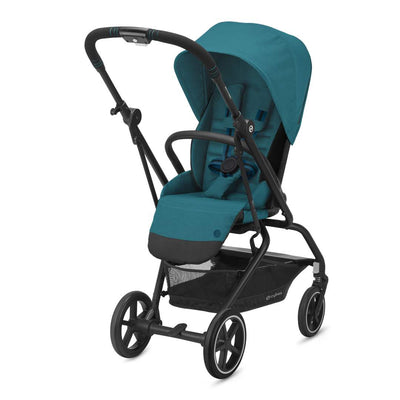 CYBEX Eezy S Twist+2 Pushchair - River Blue-Strollers- Natural Baby Shower