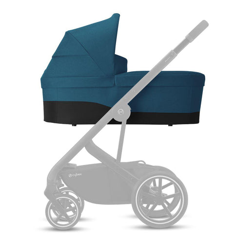Cybex Cot S - 2020 - River Blue-Carrycots- Natural Baby Shower