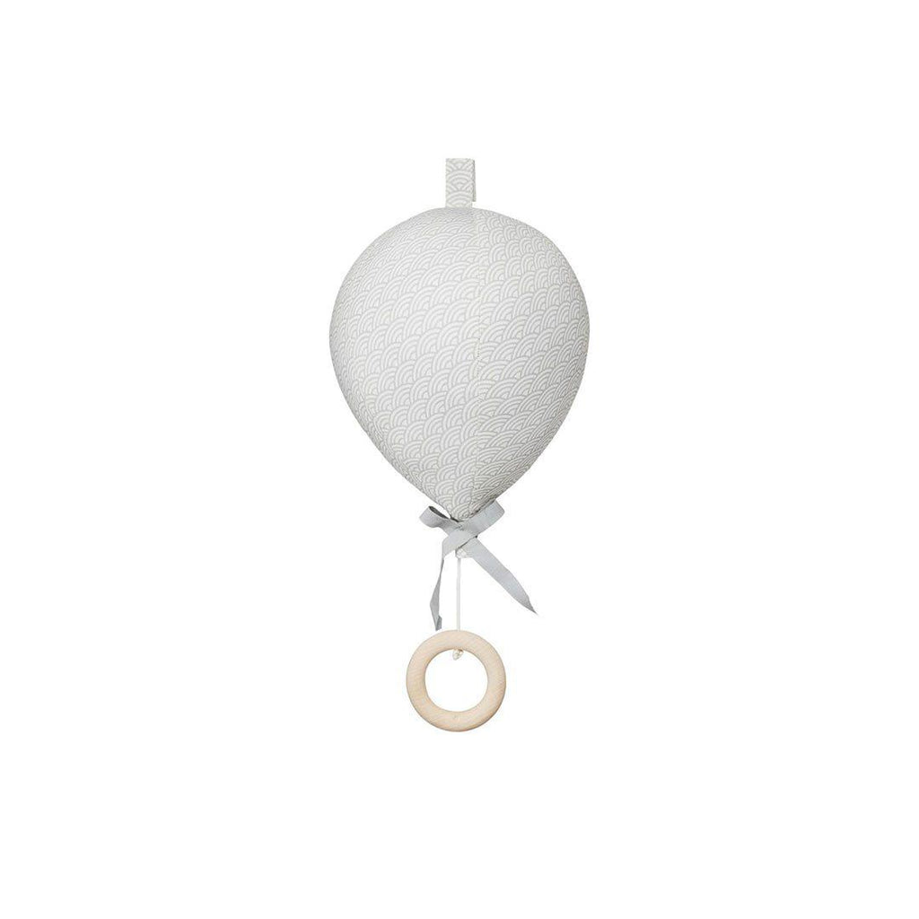 Cam Cam Copenhagen Balloon Music Mobile - Grey Wave-Baby Mobiles- Natural Baby Shower