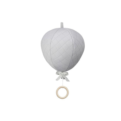 Cam Cam Copenhagen Balloon Music Mobile - Grey-Baby Mobiles- Natural Baby Shower
