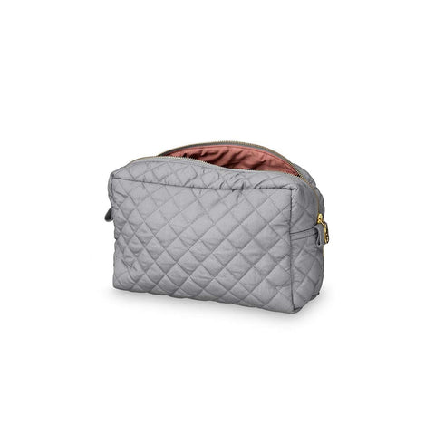 Cam Cam Copenhagen Beauty Purse - Grey-Changing Bag Accessories- Natural Baby Shower