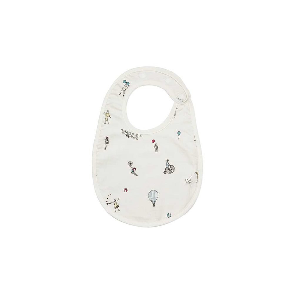 Cam Cam Copenhagen Bib - Holiday-Bibs- Natural Baby Shower