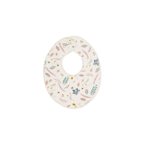 Cam Cam Copenhagen Bib - Pressed Leaves Rose-Bibs- Natural Baby Shower