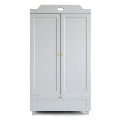 Cam Cam Copenhagen Carla Wardrobe - Classic Grey-Dressers & Chests- Natural Baby Shower