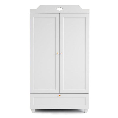 Cam Cam Copenhagen Carla Wardrobe - White-Dressers & Chests- Natural Baby Shower