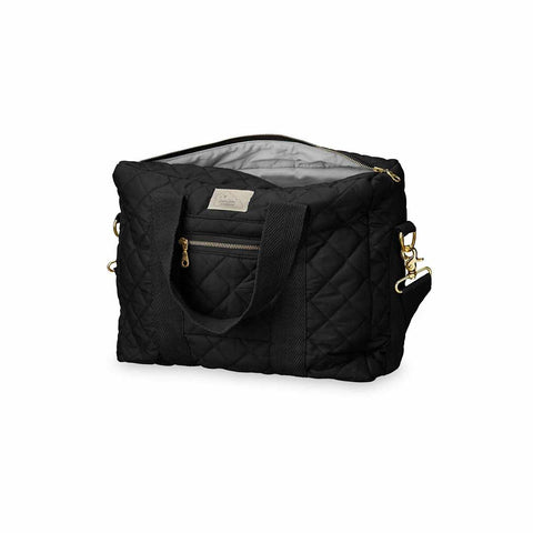 Cam Cam Copenhagen Diaper Bag 16L - Black-Changing Bags- Natural Baby Shower