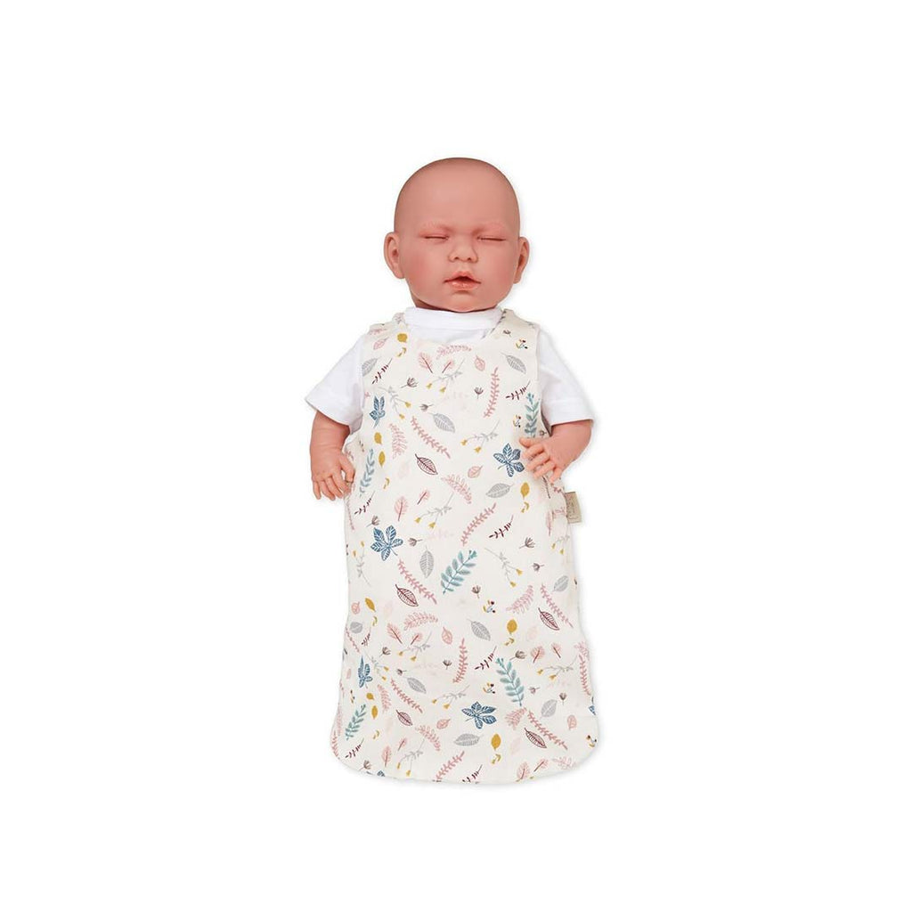 Cam Cam Copenhagen Dolls Sleeping Bag - Pressed Leaves Rose 1