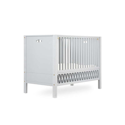 Cam Cam Copenhagen Harlequin Baby Bed - Closed Ends - Grey-Cot Beds- Natural Baby Shower
