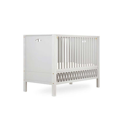Cam Cam Copenhagen Harlequin Baby Bed - Closed Ends - Light Sand-Cot Beds- Natural Baby Shower