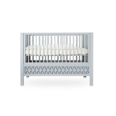 Cam Cam Copenhagen Harlequin Baby Bed - Grey-Cot Beds- Natural Baby Shower