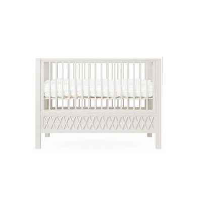Cam Cam Copenhagen Harlequin Baby Bed - Light Sand-Cot Beds- Natural Baby Shower
