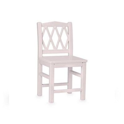 Cam Cam Copenhagen Harlequin Kids Chair - Vintage Rose-Tables & Chairs- Natural Baby Shower