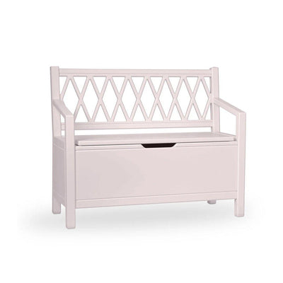 Cam Cam Copenhagen Harlequin Kids Storage Bench - Vintage Pink-Tables & Chairs- Natural Baby Shower