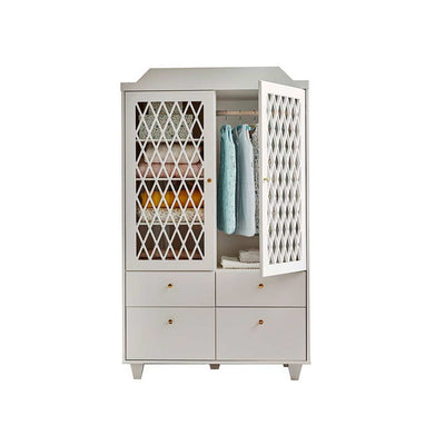 Cam Cam Copenhagen Harlequin Wardrobe - Light Sand-Wardrobes- Natural Baby Shower