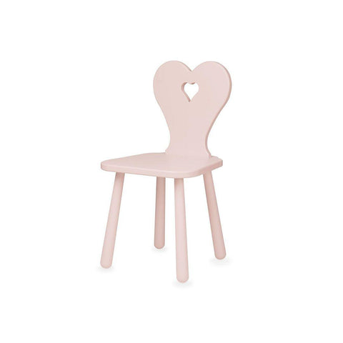 Cam Cam Copenhagen Heart Kids Chair - Blossom Pink-Nursery Accessories- Natural Baby Shower