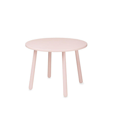 Cam Cam Copenhagen Heart Kids Table - Blossom Pink-Nursery Accessories- Natural Baby Shower