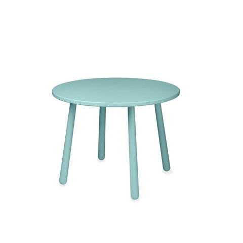 Cam Cam Copenhagen Heart Kids Table - Canal Green-Tables & Chairs- Natural Baby Shower