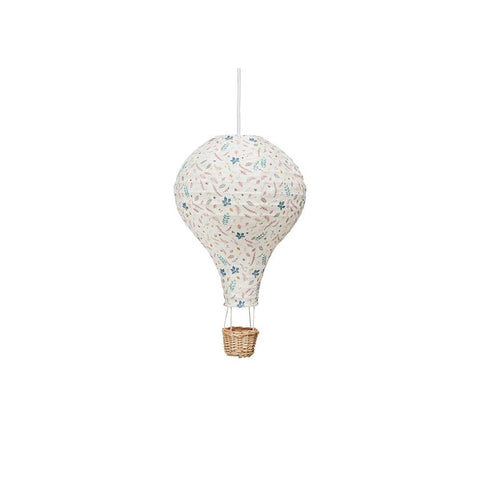 Cam Cam Copenhagen Hot Air Balloon Lamp - Pressed Leaves Rose-Lighting- Natural Baby Shower
