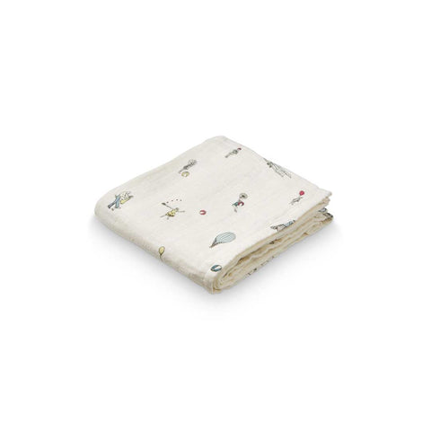 Cam Cam Copenhagen Muslin Cloth - Holiday-Muslin Squares- Natural Baby Shower