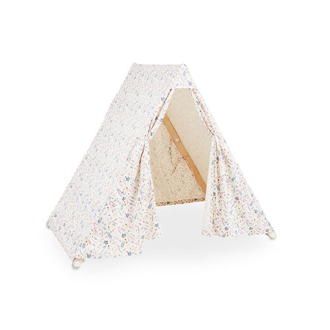 Cam Cam Copenhagen Play Gym Tent - Pressed Leaves Rose-Baby Gyms- Natural Baby Shower