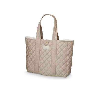 Cam Cam Copenhagen Quilt Tote Bag - Hazel-Changing Bags- Natural Baby Shower