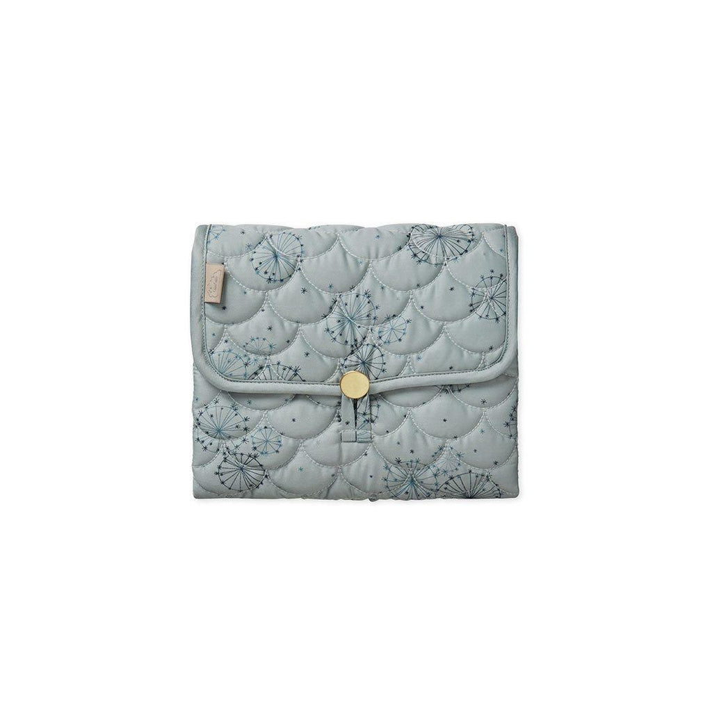 Cam Cam Copenhagen Quilted Changing Mat - Dandelion Petrol-Changing Mats & Covers- Natural Baby Shower
