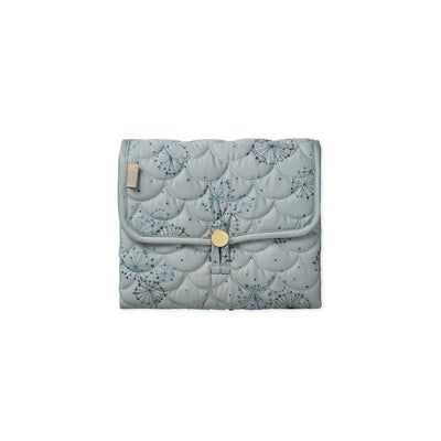 Cam Cam Copenhagen Quilted Changing Mat - Dandelion Petrol-Changing Pads- Natural Baby Shower