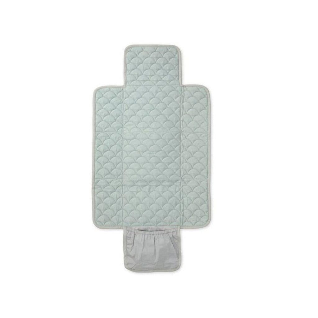 Cam Cam Copenhagen Quilted Changing Mat - Grey-Changing Mats & Covers- Natural Baby Shower