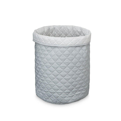 Cam Cam Copenhagen Quilted Storage Basket - Large - Grey-Storage- Natural Baby Shower