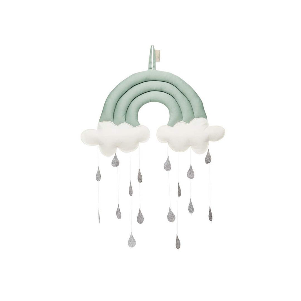 Cam Cam Copenhagen Rainbow Mobile - Sea Green-Baby Mobiles- Natural Baby Shower