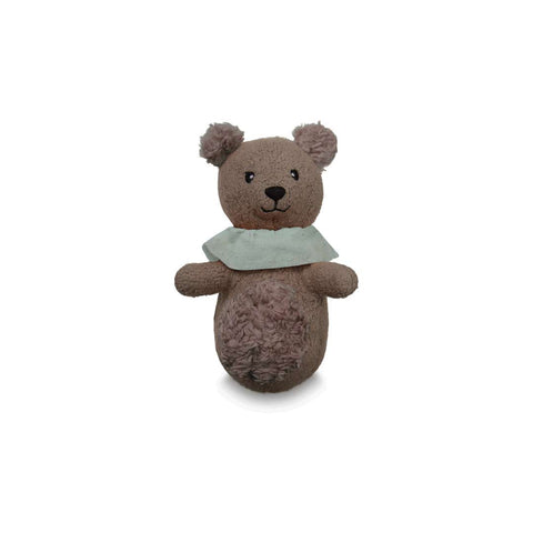 Cam Cam Copenhagen Soft Animal Rattle - Bear-Rattles- Natural Baby Shower