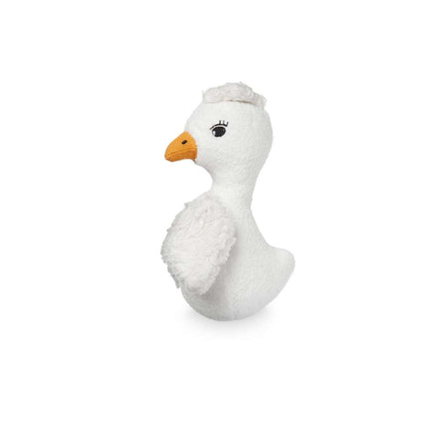 Cam Cam Copenhagen Soft Animal Rattle - Bird-Rattles- Natural Baby Shower